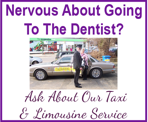 limo service with Brighton dentist