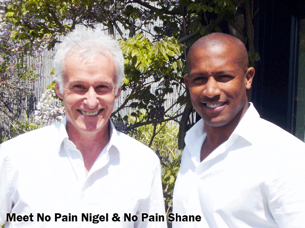 no pain dentists Nigel and Shane